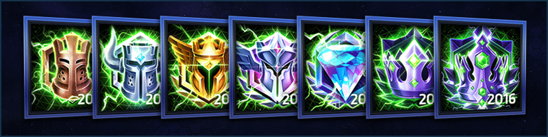 Heroes of the Storm - Ranked Season 1 Portraits