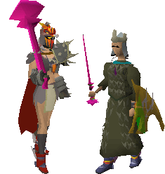 OSRS - Elder Maul and Wand