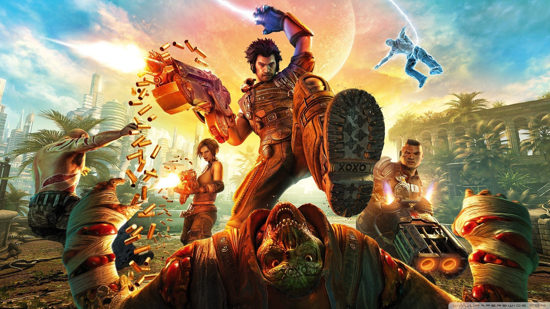 Bulletstorm remaster due in April via Gearbox