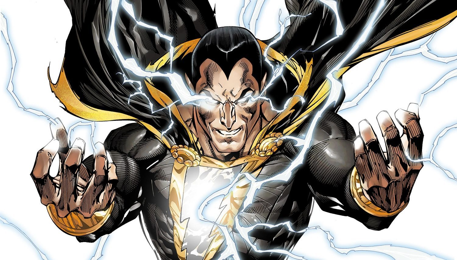 The Rock Talks Being Black Adam