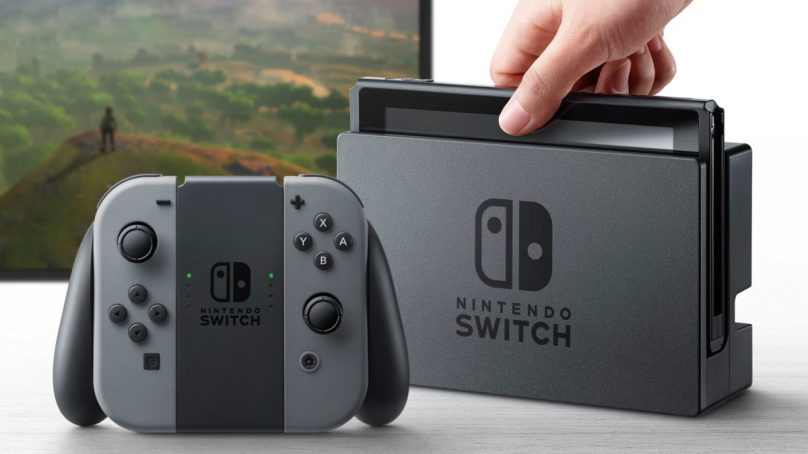 Nintendo Switch Battery Reportedly Non-Removable