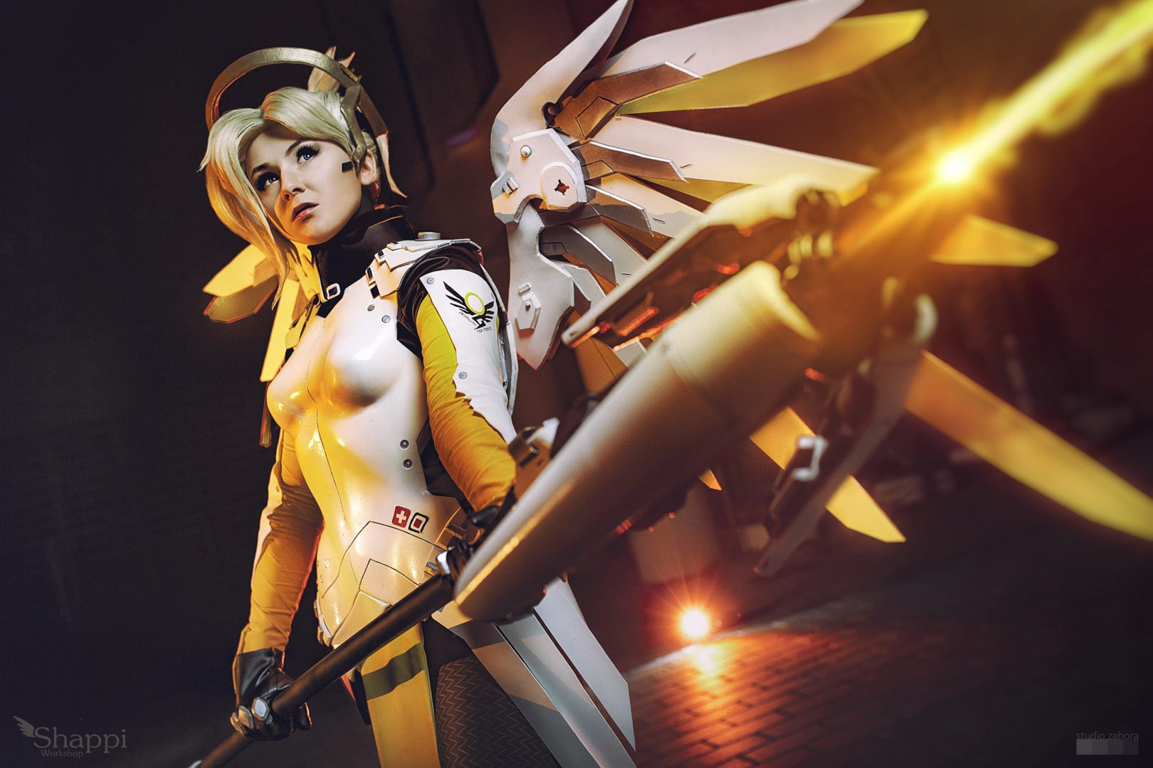 Cosplay Showcase Mercy From Overwatch MMOExaminer