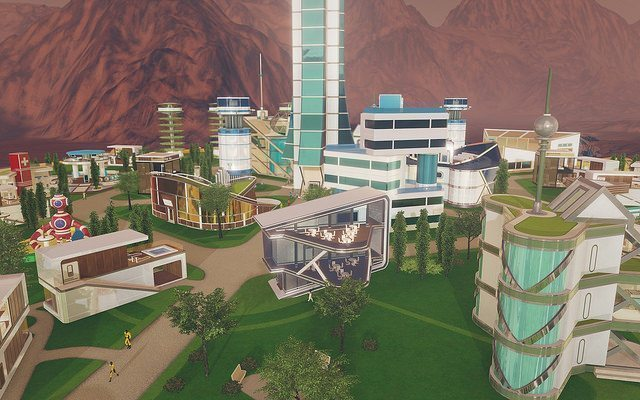The next game from the people behind Tropico is Surviving Mars