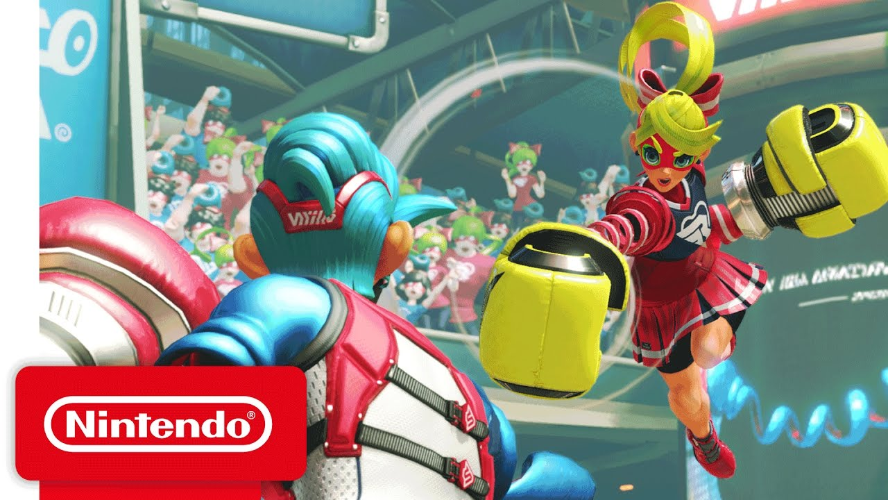 Nintendo Switch fighter ARMS is getting a timed demo