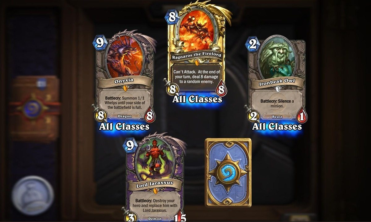 Hearthstone Changes to Nix Duplicate Legendaries