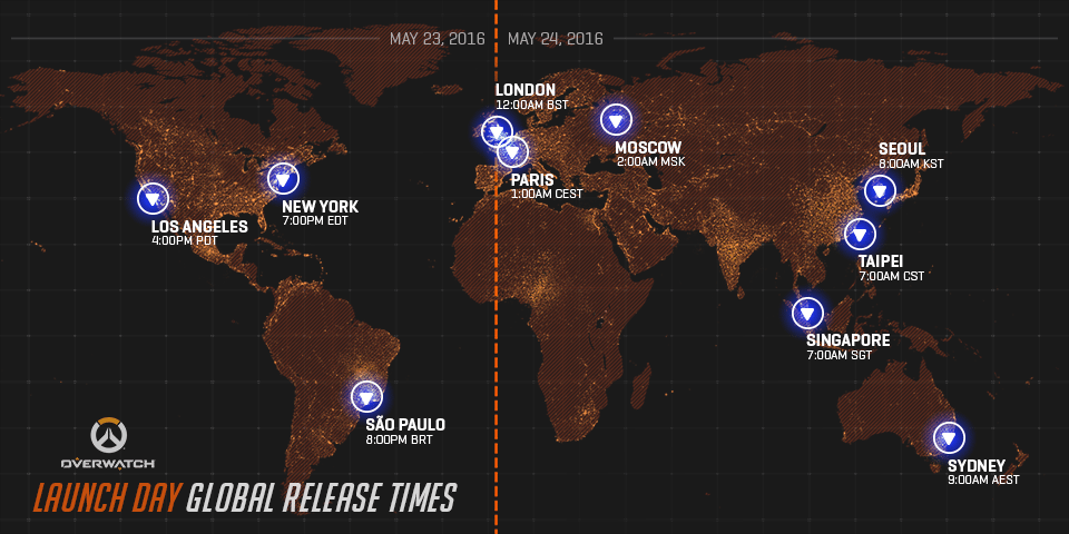 Overwatch - Launch Reference Guide