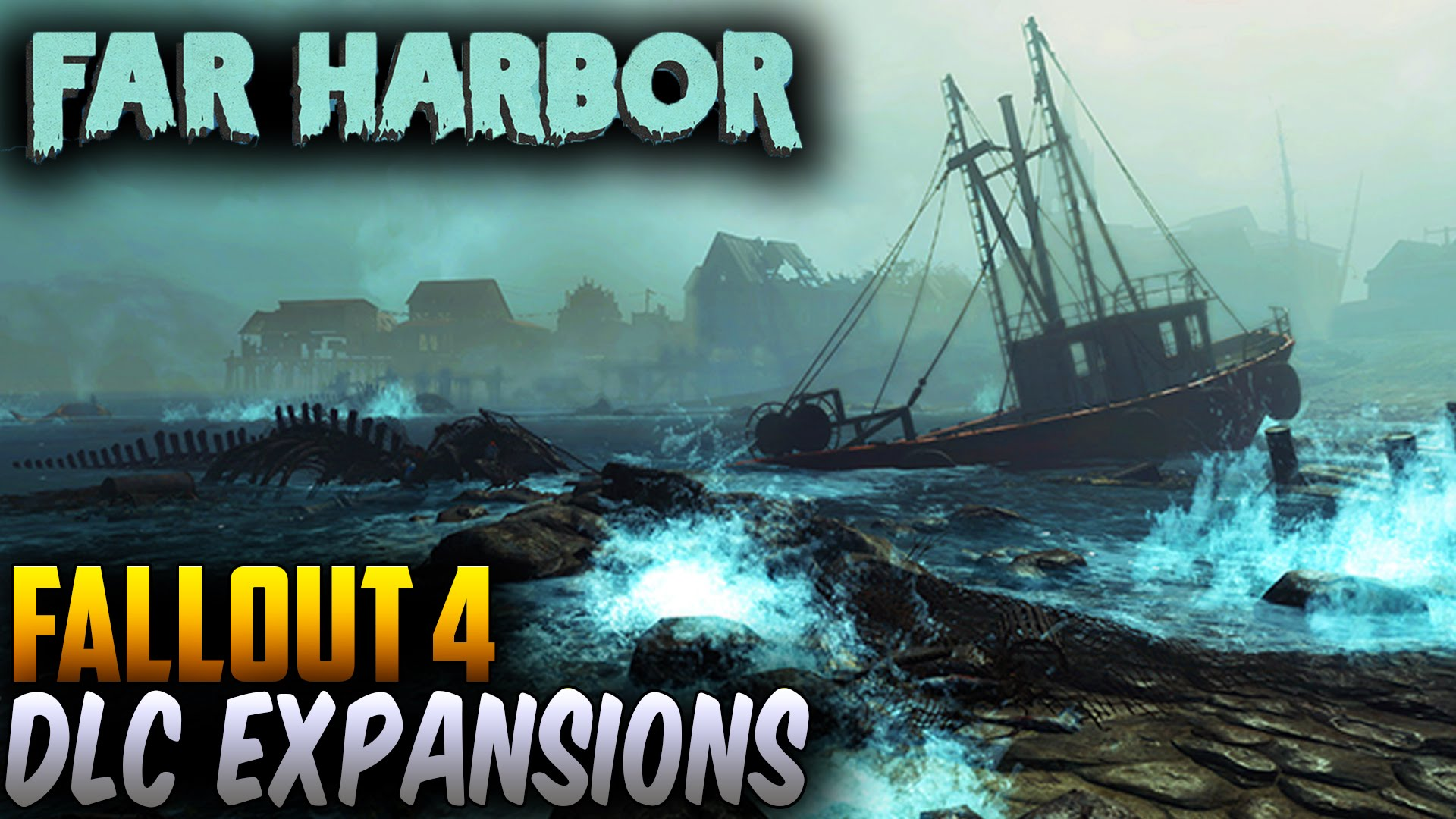 how to get to far harbor on fallout 4