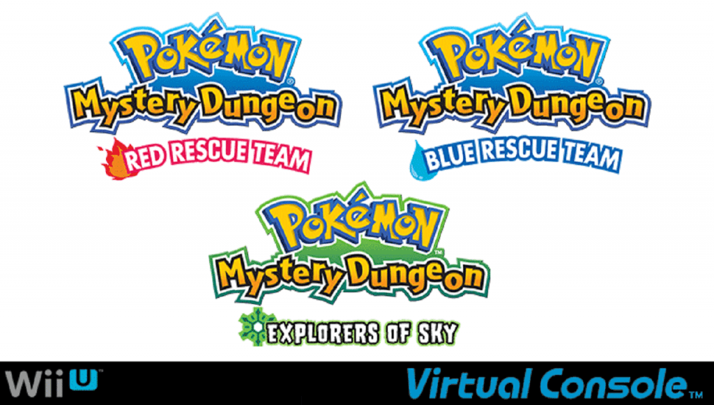 Virtual Console - Pokemon Mystery Dungeon