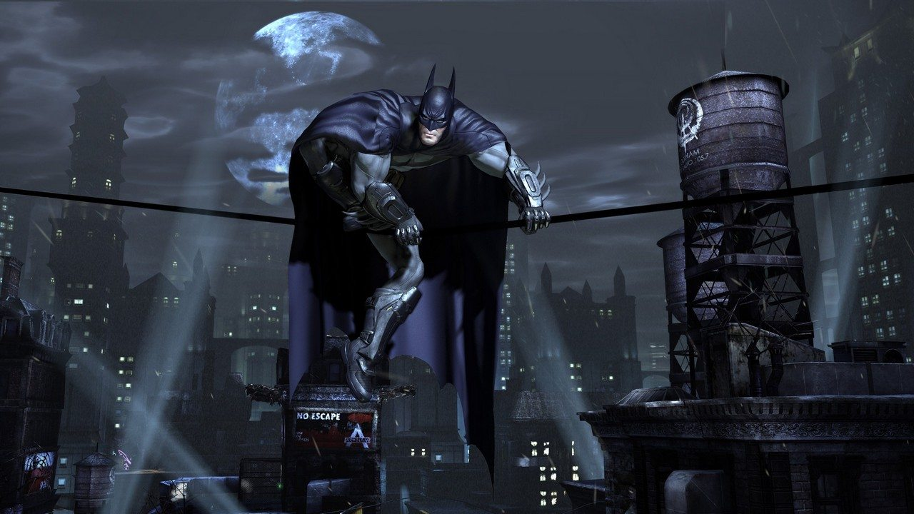 No new Arkham game claims Batman's voice actor