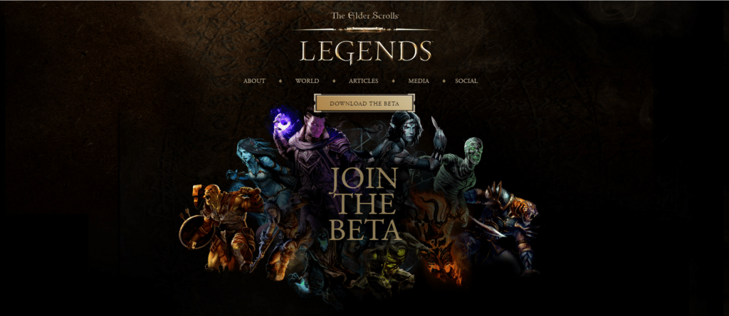 ES Legends - Join Beta
