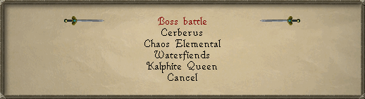 OSRS - Crush Bosses