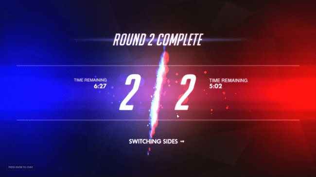 Overwatch - Tie Breaker Time Remaining