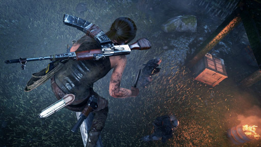 Crystal Dynamics Tomb Raider