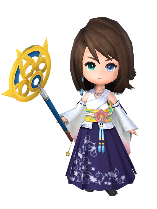Yuna Minion, exclusive to the FINAL FANTASY XIV Fan Festival 2017 in Frankfurt