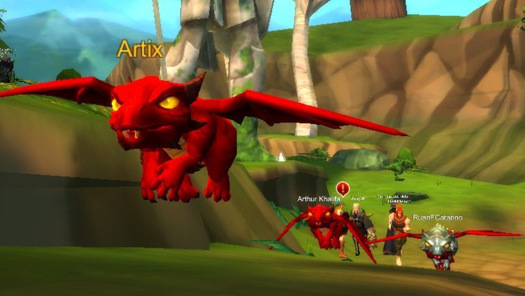 Dragon Travel Form Transformations Now Available in AQ3D | MMOExaminer