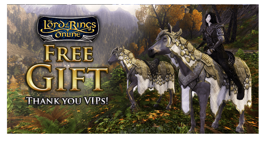 Lord Of The rings Online VIP Gift