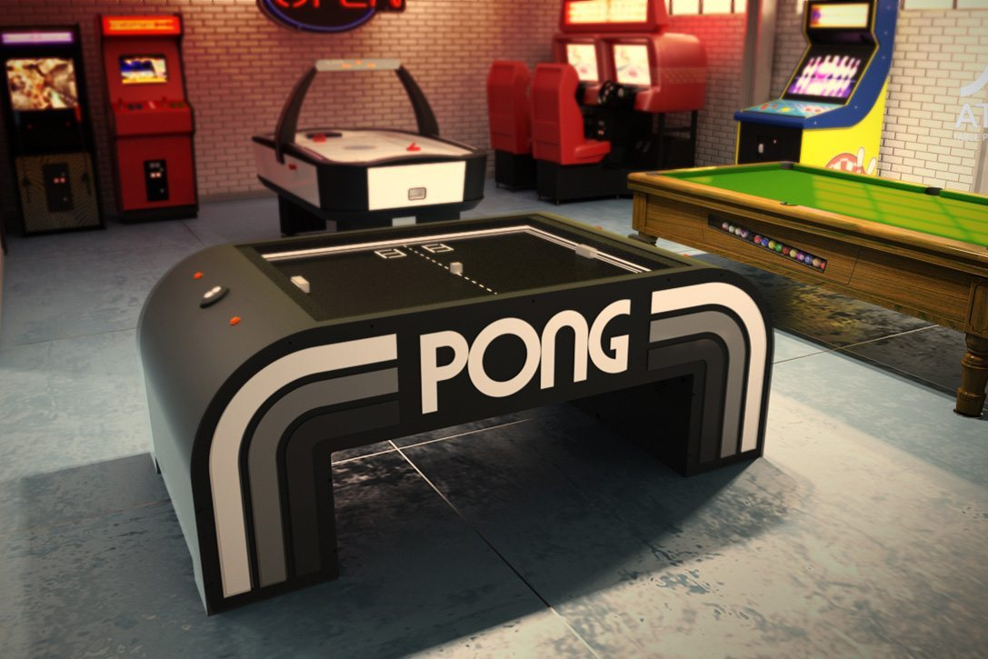 Atari Pong Coffee Table Seeks Funding On Indiegogo MMOExaminer - Atari coffee table