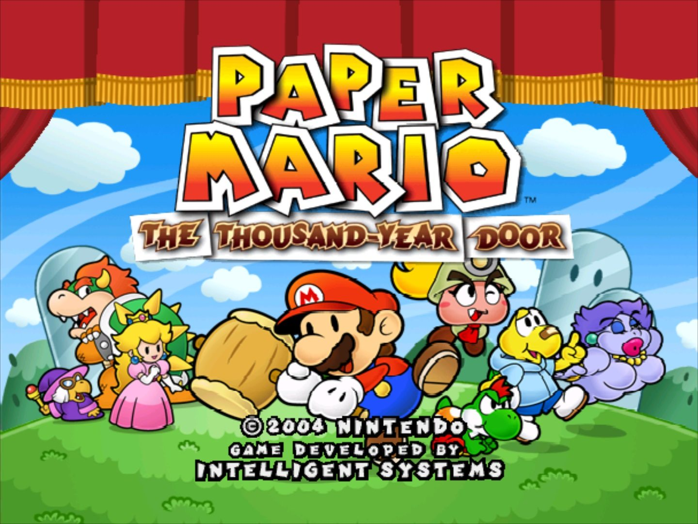 RetroNight: Paper Mario The Thousand-Year Door