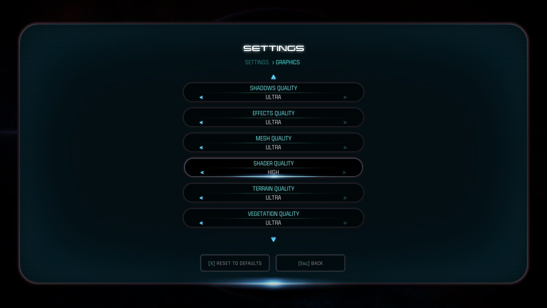 geforce reveals pc graphic settings for mass effect. Black Bedroom Furniture Sets. Home Design Ideas
