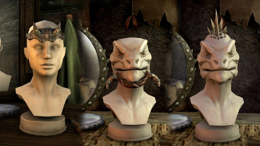 Elder Scrolls Online Crown Store Head Gear