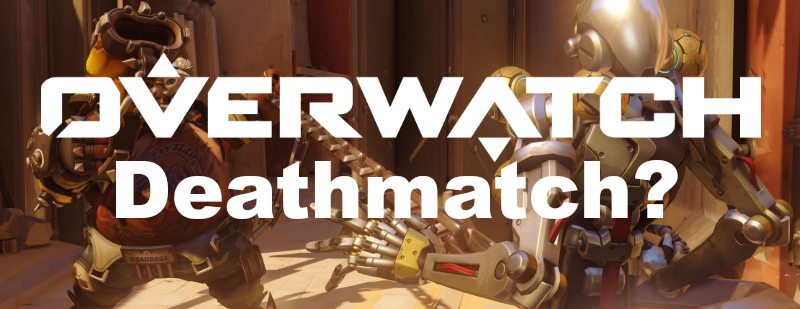 Overwatch Roadhog Hook Zenyatta Deathmatch
