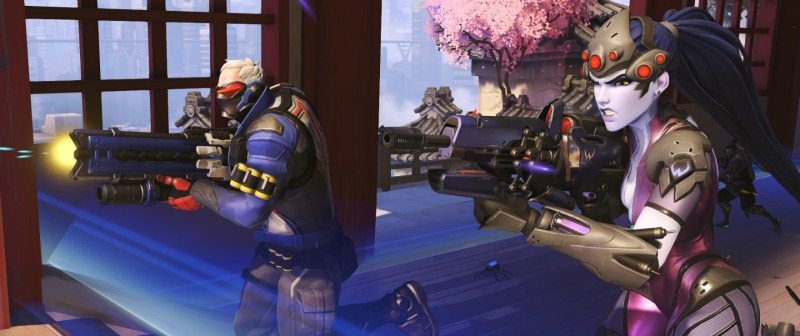 Overwatch Soldier 76 Widowmaker Hanamura