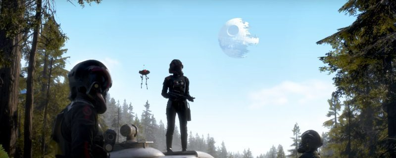 Star wars Battlefront II Trailer Screenshot Death Star
