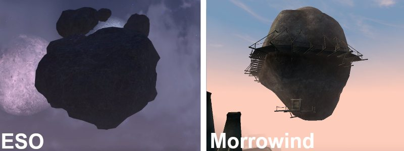 ElderScrolls Online Morrowind Moonlet Ministry of Truth VS