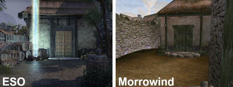 Elder Scrolls Online Morrowind Courtyard of Census and Excise