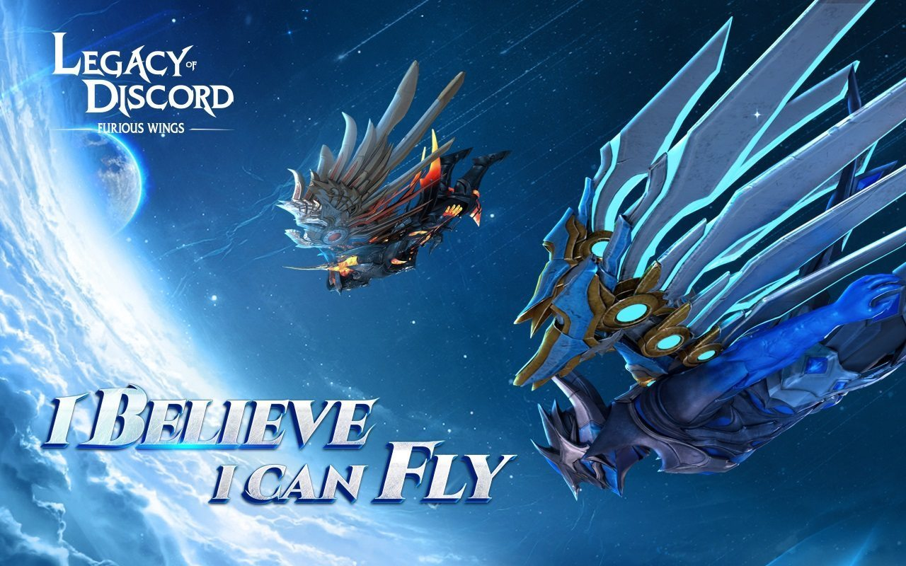 how to fly in legacy of discord