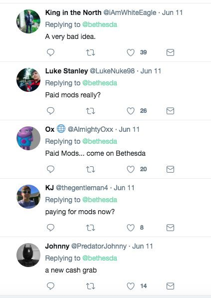 Bethesda Twitter ResponseCreation Club