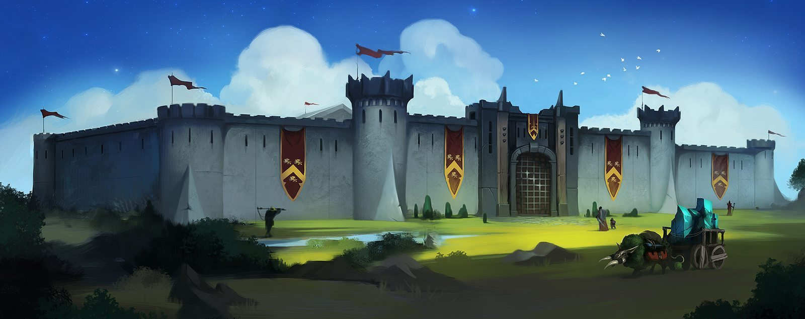 Crowfall Keep Castle Large