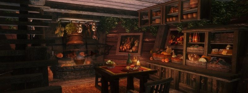 Skyrim Elianora Serenity Player home