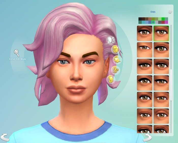 Sims 4 Character Creation