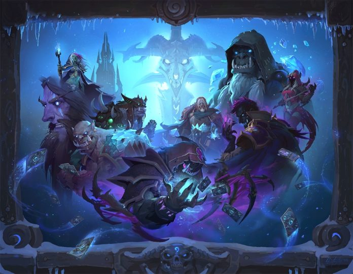 Hearthstone Leak Reveals Knights of the Frozen Throne Expansion