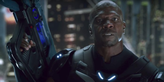 Terry Crews shown off as Commander Jaxon in new Crackdown 3 teaser