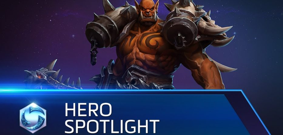 Garrosh Heroes of the Storm
