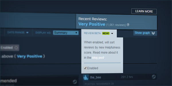 Valve Changing Steam Reviews to Fight Bots and Review Bombing