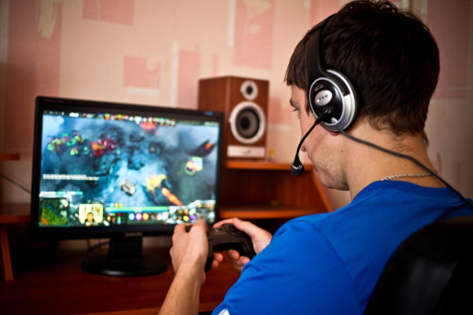 example of research paper about computer games addiction